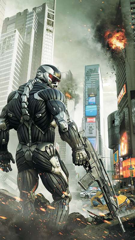 Crysis 2 Mobile Vertical fond d'écran