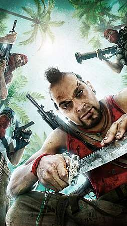 Far Cry 3 Mobile Vertical fond d'écran