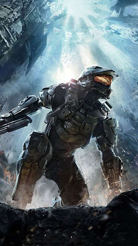Halo 4 Mobile Vertical fond d'écran
