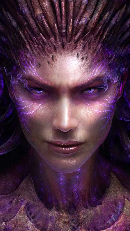 StarCraft 2: Heart of the Swarm Mobile Vertical fond d'écran