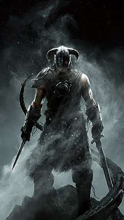 The Elder Scrolls 5: Skyrim Mobile Vertical fond d'écran