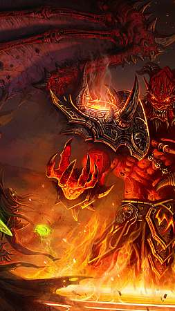 World of Warcraft: The Burning Crusade Mobile Vertical fond d'écran