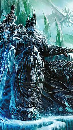 World of Warcraft: Wrath of the Lich King Mobile Vertical fond d'écran