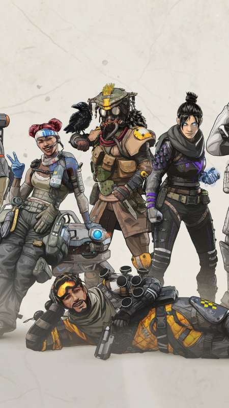 Apex Legends Mobile Vertical fond d'écran