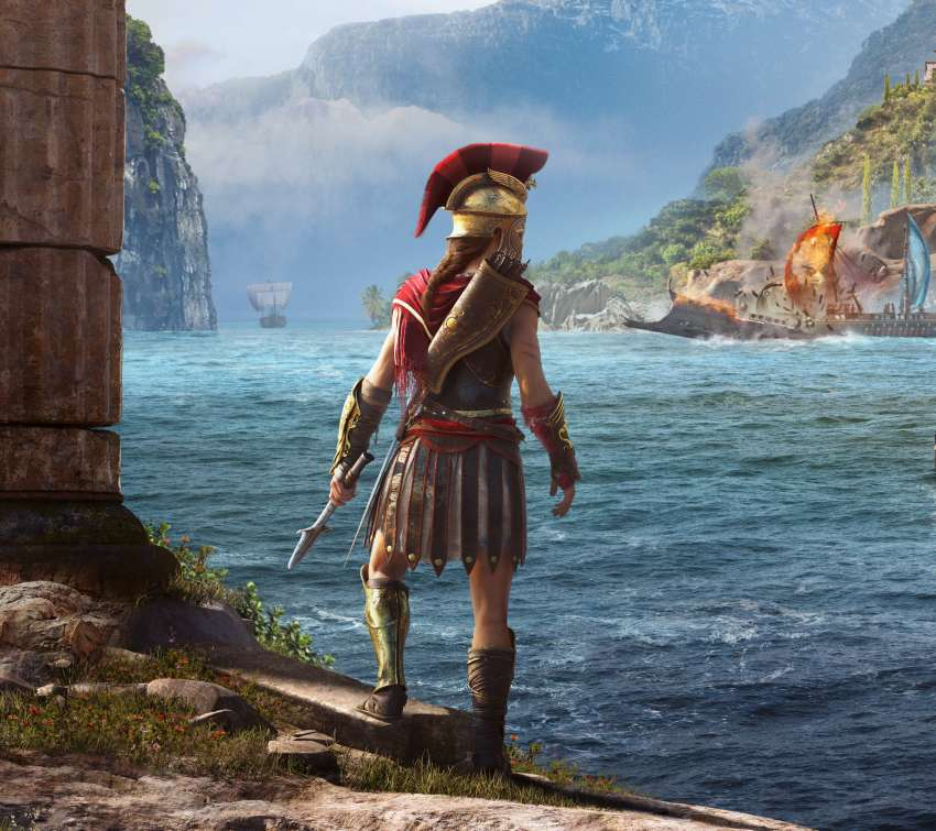 Assassin's Creed: Odyssey Mobile Horizontal fond d'écran