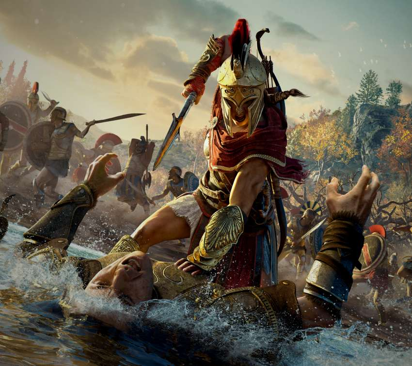 Assassin's Creed: Odyssey fond d'écran