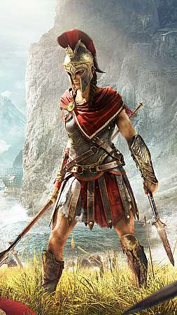 Assassin's Creed: Odyssey Mobile Vertical fond d'écran