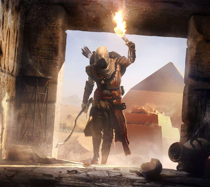 Assassin's Creed: Origins Mobile Horizontal fond d'écran