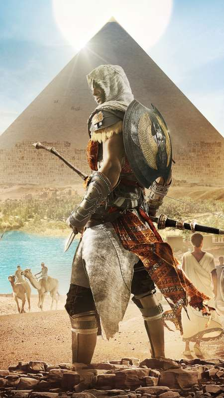 Assassin's Creed: Origins Mobile Vertical fond d'écran