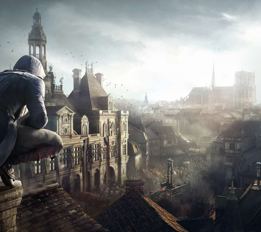 Assassin's Creed: Unity Mobile Horizontal fond d'écran