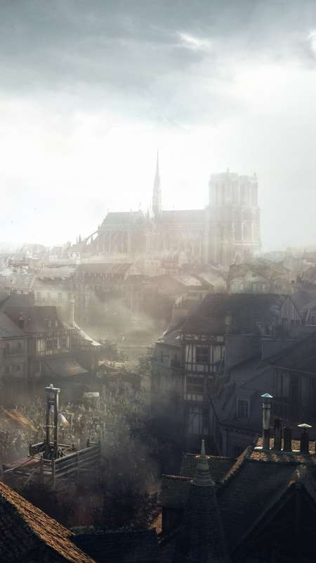 Assassin's Creed: Unity Mobile Vertical fond d'écran