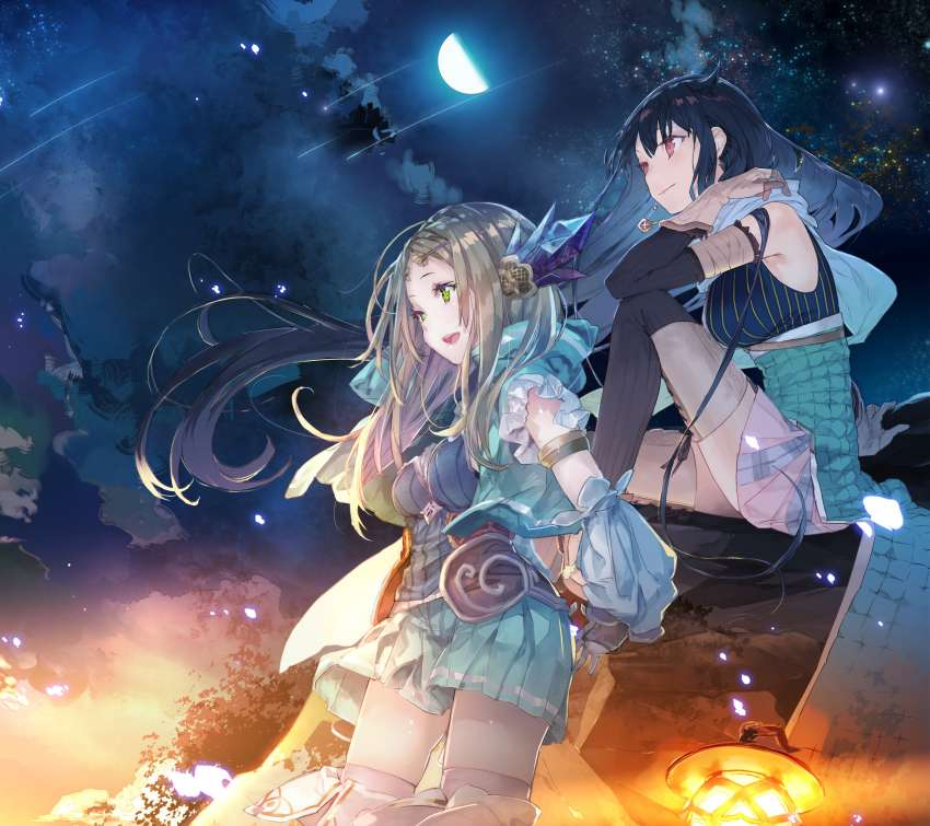 Atelier Firis: The Alchemist and the Mysterious Journey Mobile Horizontal fond d'écran