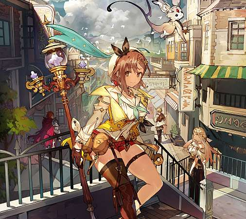 Atelier Ryza 2: Lost Legends & the Secret Fairy Mobile Horizontal fond d'écran
