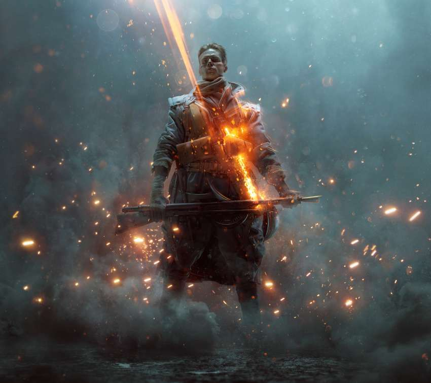 Battlefield 1: They Shall Not Pass Mobile Horizontal fond d'écran