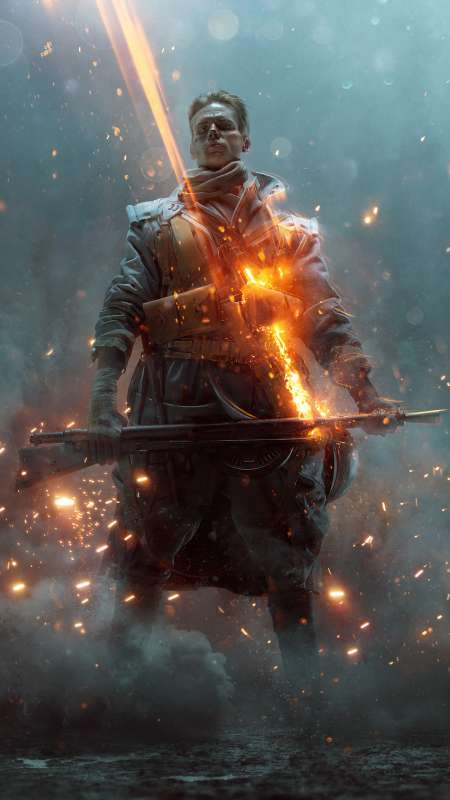 Battlefield 1: They Shall Not Pass Mobile Vertical fond d'écran