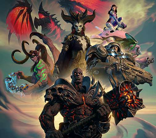 Blizzard Entertainment Mobile Horizontal fond d'écran