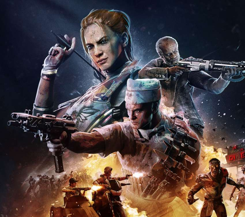 Call of Duty: Black Ops 4 - Operation Apocalypse Z Mobile Horizontal fond d'écran