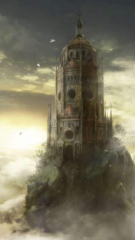 Dark Souls 3: The Ringed City Mobile Vertical fond d'écran