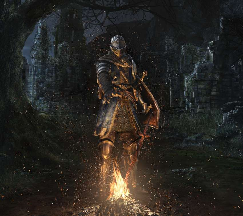 Dark Souls: Remastered Mobile Horizontal fond d'écran