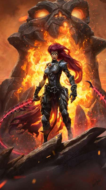 Darksiders 3 Mobile Vertical fond d'écran