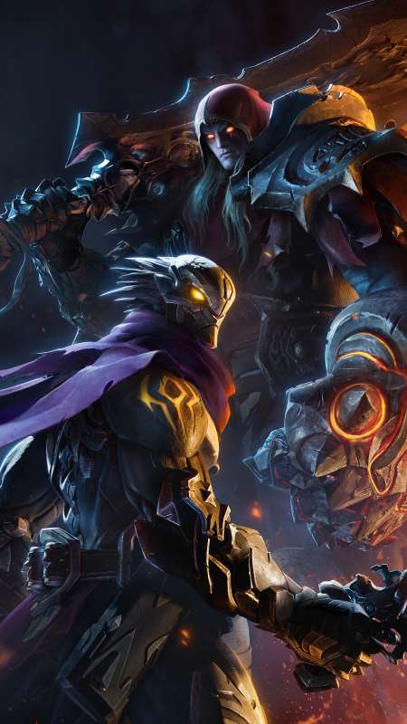 Darksiders: Genesis Mobile Vertical fond d'écran