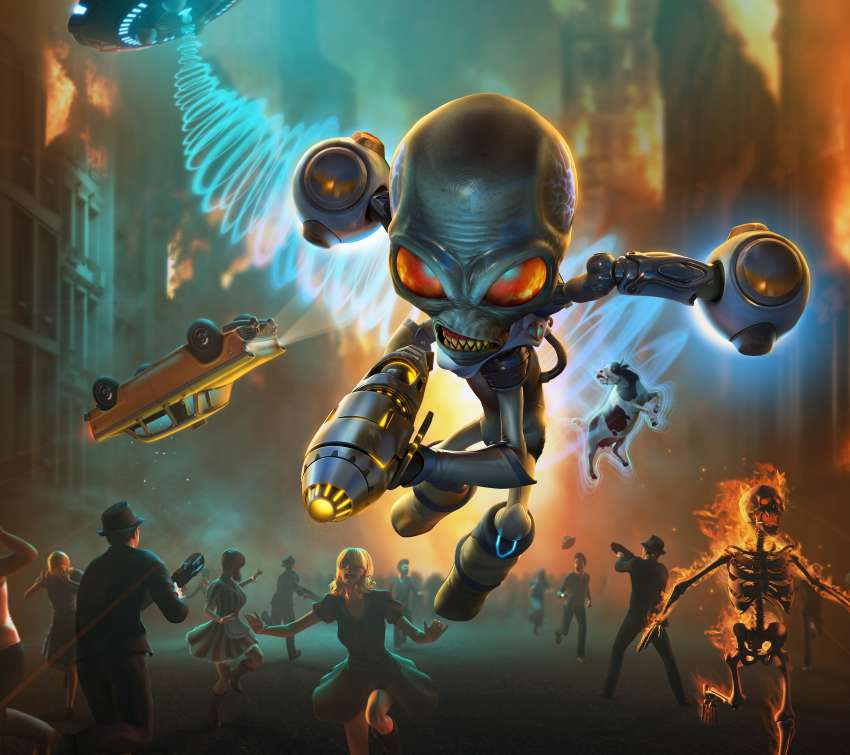 Destroy All Humans 2020 Mobile Horizontal fond d'écran