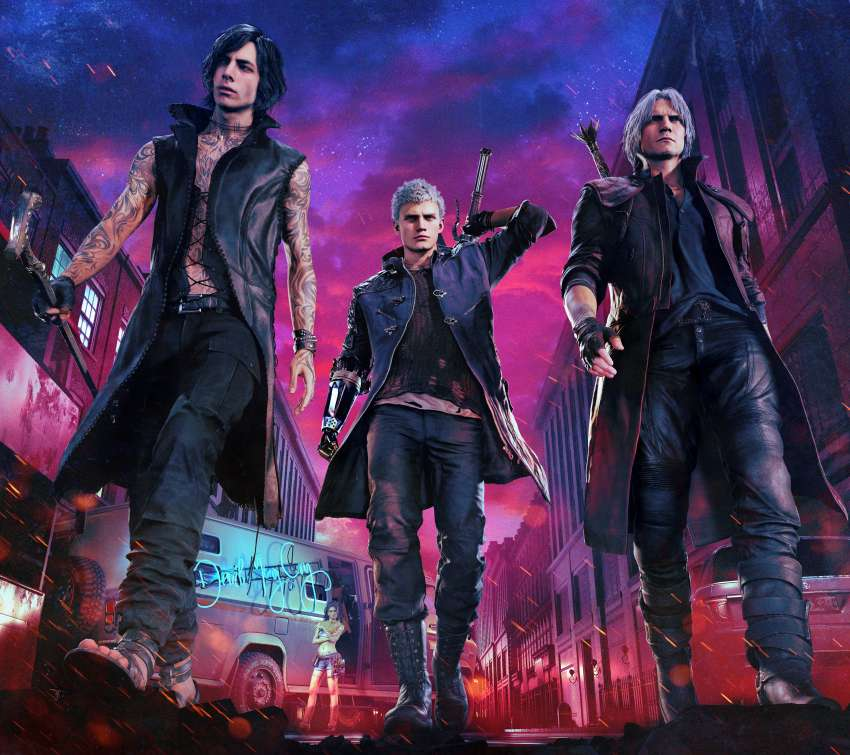 Devil May Cry 5 Mobile Horizontal fond d'écran