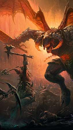 Diablo Immortal Mobile Vertical fond d'écran