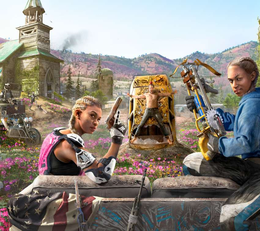Far Cry New Dawn Mobile Horizontal fond d'écran