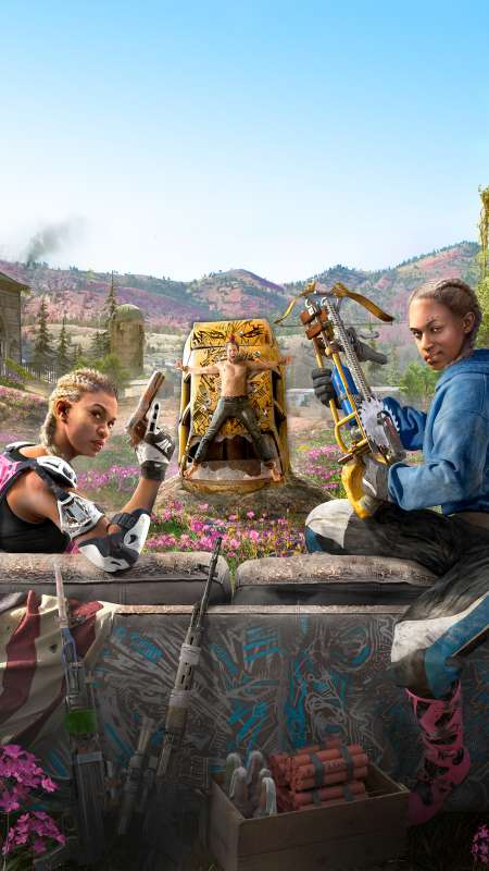Far Cry New Dawn Mobile Vertical fond d'écran