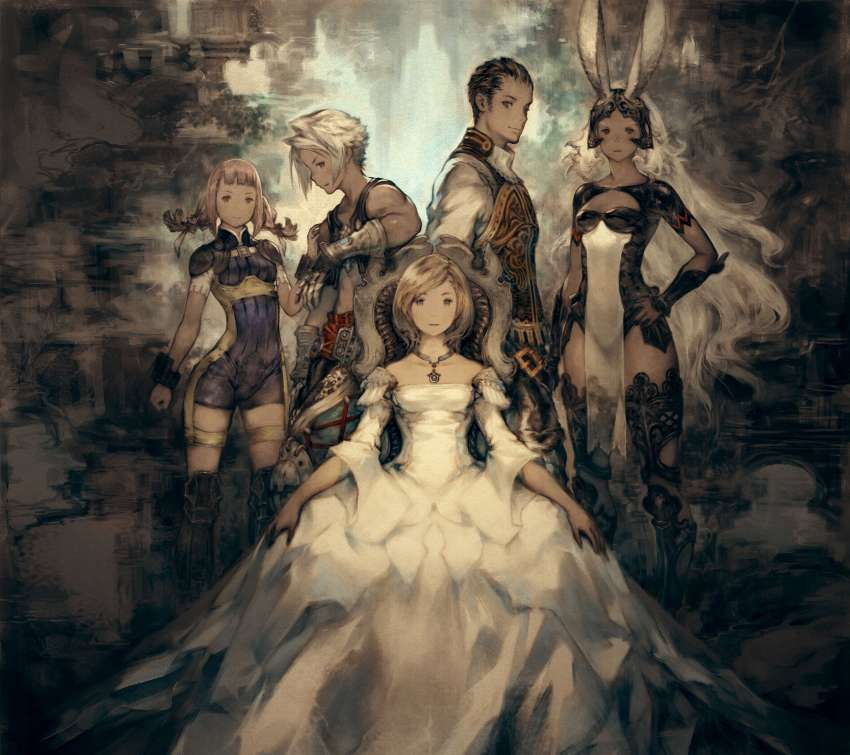 Final Fantasy XII The Zodiac Age Mobile Horizontal fond d'écran