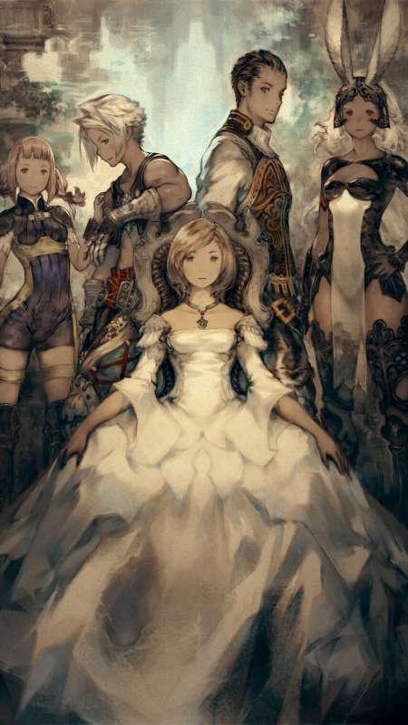 Final Fantasy XII The Zodiac Age Mobile Vertical fond d'écran