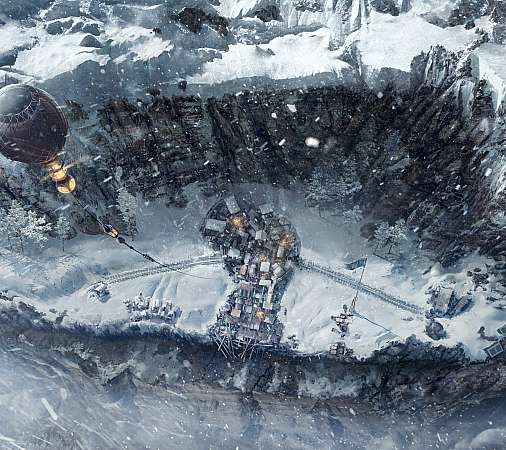 Frostpunk: On the Edge Mobile Horizontal fond d'écran
