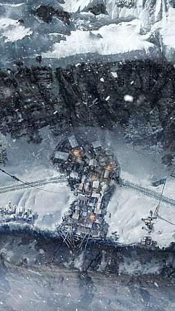 Frostpunk: On the Edge Mobile Vertical fond d'écran