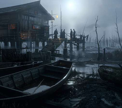 Ghost of Tsushima Mobile Horizontal fond d'écran