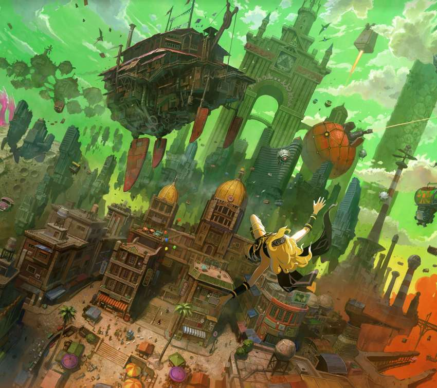 Gravity Rush Remastered Mobile Horizontal fond d'écran