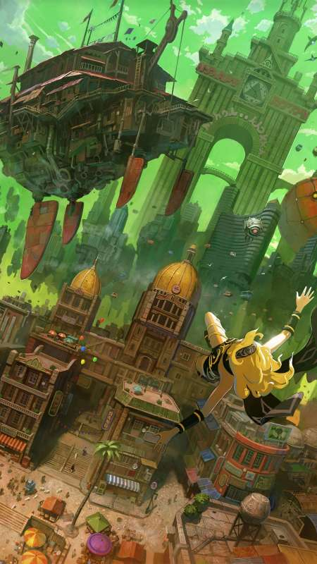 Gravity Rush Remastered Mobile Vertical fond d'écran