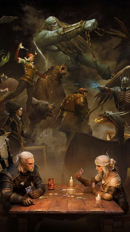 GWENT: The Witcher Card Game Mobile Vertical fond d'écran