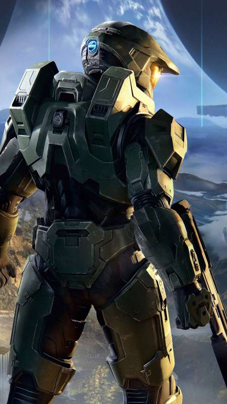 Halo: Infinite Mobile Vertical fond d'écran