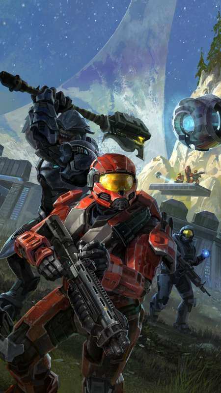 Halo: Reach Mobile Vertical fond d'écran