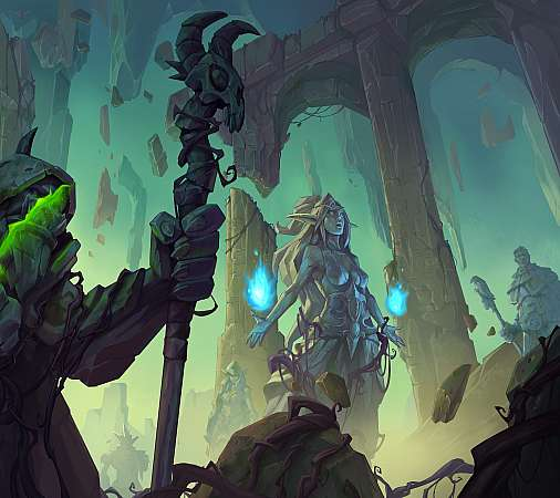 Hearthstone: Ashes of Outland Mobile Horizontal fond d'écran
