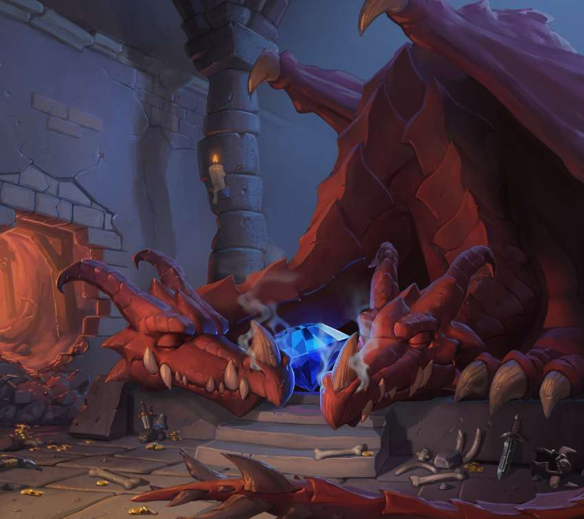 Hearthstone: Heroes of Warcraft - Kobolds & Catacombs fond d'écran