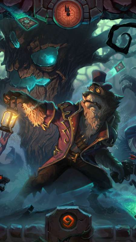Hearthstone: Heroes of Warcraft - The Witchwood Mobile Vertical fond d'écran