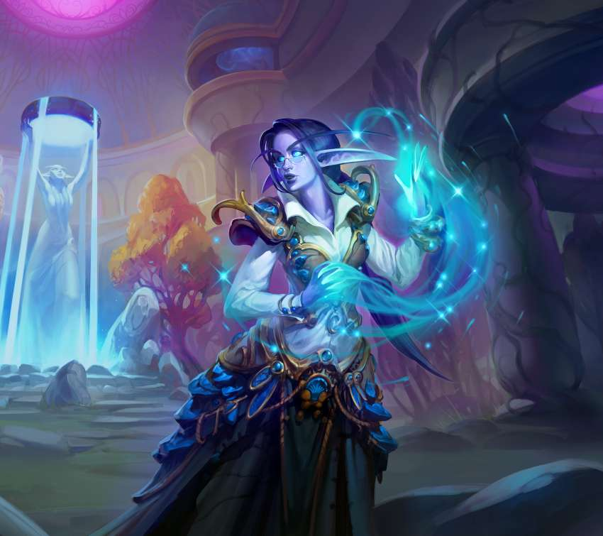 Hearthstone: Saviors of Uldum Mobile Horizontal fond d'écran