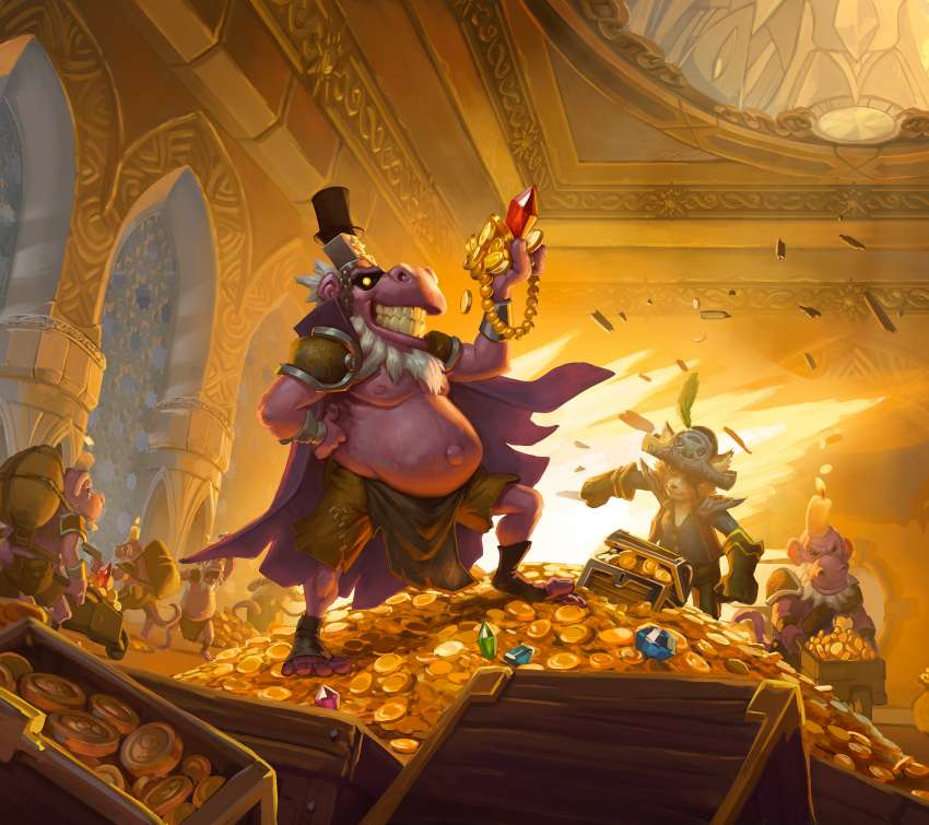 Hearthstone: The Dalaran Heist Mobile Horizontal fond d'écran
