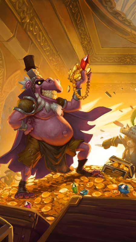 Hearthstone: The Dalaran Heist Mobile Vertical fond d'écran