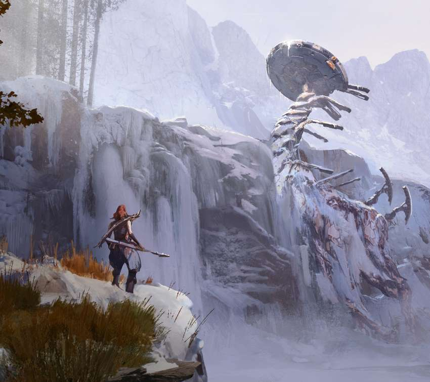 Horizon: Zero Dawn - The Frozen Wilds fond d'écran