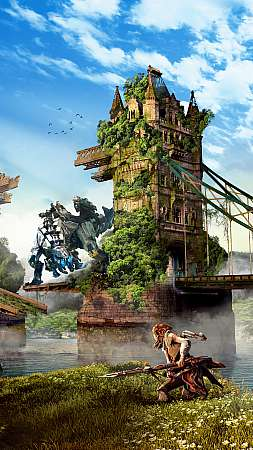 Horizon: Zero Dawn Mobile Vertical fond d'écran