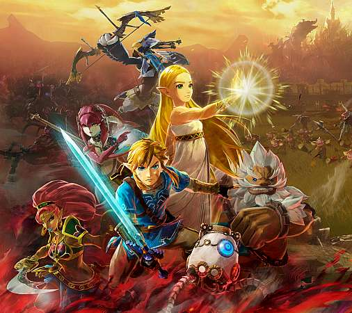 Hyrule Warriors: Age of Calamity Mobile Horizontal fond d'écran