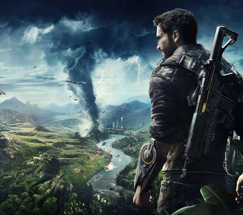 Just Cause 4 Mobile Horizontal fond d'écran